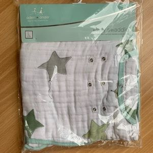 Aden+Anais Easy Swaddle, Large (3-6 month) NIP